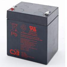 CSB GP 1245 F1 Rechargeable Sealed Lead Acid Battery 12V 4.5Ah GP1245F1 SLA