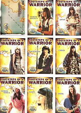 Xena Beauty&Brawn Footsteps of Warrior Insert/chase card Set FW1-9~ Lucy Lawless