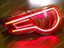 Red Flexible TUBE Brake Light Strip DRL LED Tail Light flexi Tube  X 2  *NEW*