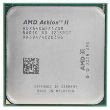 AMD Athlon II X4 640 CPU Quad-Core 3.0 GHz 2M Socket AM2+ Socket AM3 Processors