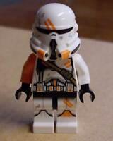 Lego Star Wars Airborne Clone Trooper Figur weiss orange Klone Neu