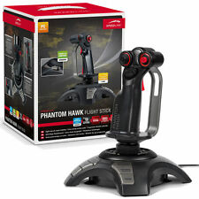 Speedlink Phantom Hawk Flight Stick Controller - Force Vibration, Programmable