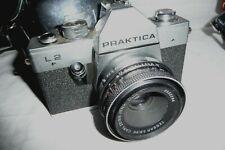 Camera PRAKTICA L2 & CARL ZEISS 1:2.8 50mm lens + case  ... E1