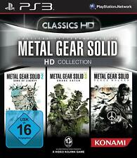 PS3 Game Metal Gear Solid HD Collection with 2 & 3 & Peace Walker Trilogy New