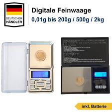 Digitale Präzisionswaage Feinwaage 0.01g-10kg Taschenwaage Goldwaage Fein Waage