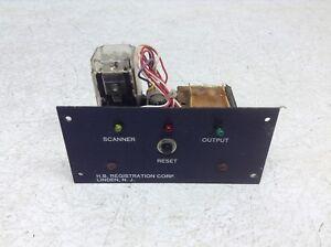 H.B. Registration 10-0076 Control Board Module 100076