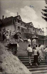 Szováta Gyógyfürdő Sovata Rumänien Frankatur auf AK 1958 Vedere Aussichtspunkt