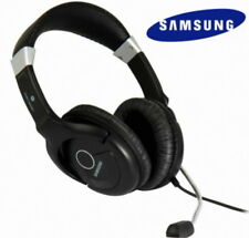 SAMSUNG Premium HiFi Stereo HEADSET HEADPHONES With MIC noise cancelling -Black