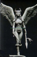 Unassambled 1/24 Ancient Female Warrior With Wing Resin figure Model Garage Kit