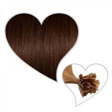 25 Extensions castano-cioccolato #04,45cm,1 grammi, Premium,