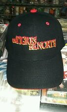 Los Tigres del Norte Gorra Color Negra Letras Rojas y Amarillas New Nueva