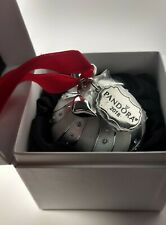100% AUTHENTIC PANDORA SILVER SPECTACULAR ROCKETTES CHRISTMAS BULB PRE-OWNED