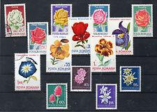 Rumania Flores Valores del año 1970-72 (CW-280)