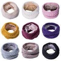 Favorite Fashion Women Winter Warm Knitted Snood Scarf Cowl Neck Circle FM