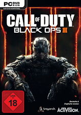 Call Of Duty: Black Ops III (PC, 2015, DVD-Box)