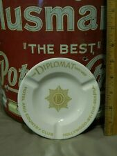 """The Diplomat East/West Hotel & Country Club """"Hollywood by The Sea"""" Vtg ASHTRAY"""
