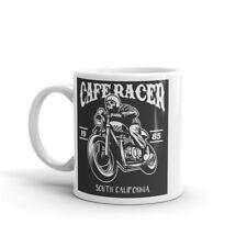 Awesome CAFE RACER Mug-Biker Poison Papa Brother Motorcycle Motorbike Skull #7930