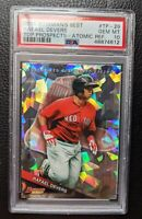 2015 BOWMANS BEST ATOMIC REFRACTOR RAFAEL DEVERS ROOKIE RC BOSTON RED SOX PSA 10