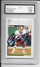 BCG / Best Card Grading? 2000 Tops Gallery Champ Bailey w/ Auto MT 10