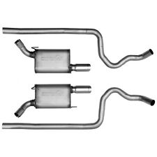 Dynomax 39414 Ultra Flo Welded Dual Cat-Back System Fits 05-09 Mustang