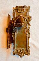 Antique Ornate Brass Door Hardware for Restoration