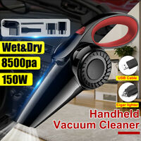 12V Car Vacuum Cleaner Small Mini Portable For Auto Home Wet Dry Handheld  Q