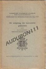 LEUVEN Oorsprong der Leuvense Geslachten - J. Cuvelier 1933 (N587)