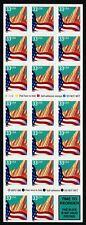 USA, Scott # 3278Fg, COMPLETE SHEET PANE OF 20 FLAG OVER CITY WITH PLATE #V5445