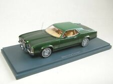 Mercury Cougar Vert Green 1/43 Neo Scale Models