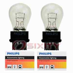2 pc Philips Tail Light Bulbs for Dodge Avenger B150 B1500 B250 B2500 B350 fi