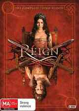 Reign : Season 3 (DVD, 4-Disc Set) NEW