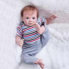 50cm Lifelike Schöne Silikon Vinyl Reborn Babypuppen Neugeborenen Jungen Dolls
