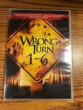 Wrong Turn DVD Set 1 2 3 4 5 6 Dead End Left Dead Bloody Horror NEW Last Resort