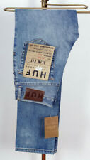 Huf Worldwide Skate Shoes Jeans Pant Pants Trousers Slim Fit Light Denim in 28