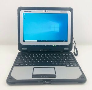 Panasonic Toughbook CF-20, 8GB RAM, 256GB SSD, Windows 10 Pro, 2 in 1 tablet