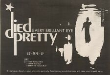 21/4/90Pgn24 Advert: Died Pretty Album every Brilliant Eye & On Tour 7x11