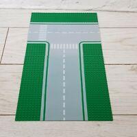2 x Genuine Lego City Green Road Base Plates 32x32 Studs