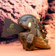Unbox x Monster Little Ziqi - Dark Chocolate Ice Cream Dino Soft Vinyl Figure