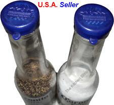 Pair (2) of Corona Salt and Pepper Shaker Caps Beer Lids Tops - Tools & Gad