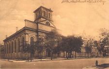 Jesuit Church Detroit College MI 1907 #524 Made in Germany Dietsche Postcard A2