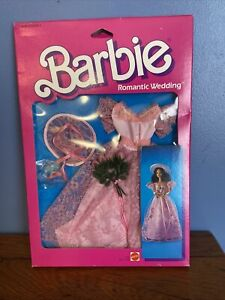 Vintage Barbie BRIDESMAID Romantic Wedding New NIB NRFB 1986