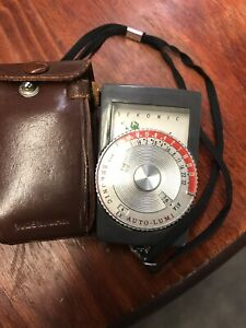 antique Sekonic AUTO LUMI MODEL 86 Light Meter MADE IN JAPAN