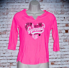Pink Justice Cheer T-Shirt Size 12