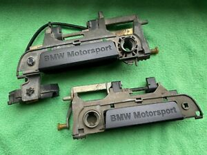BMW E36 M3 Door Handles Pair BMW Motorsport Türgriffe Front doors 1992 1993 1994