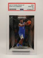 2019 Panini Prizm Draft Picks Zion Williamson ROOKIE RC #64 PSA 10 GEM MINT