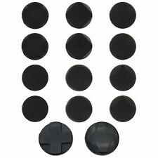 Thumbstick grips & D-pad rockers for Sony PS Vita 14 in 1 pack - black   ZedLabz