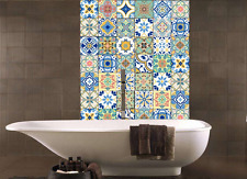 Tile Sticker Kitchen Bathroom Wall Mural Decal Home Decor Removable DIY Spanish