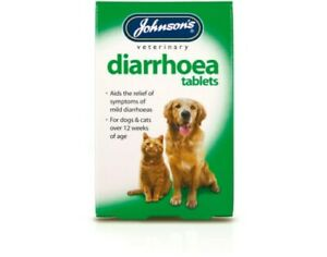 Johnsons Diarrhoea Tablet for pets Dog Cat Treatment  (A009)