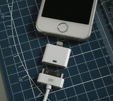 Adapter from 30-Pin Female Apple Cable to 8-Pin Male Lightning for IPHONE 5-11
