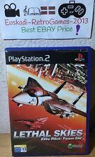 """""""Lethal Skies :Elite Pilot Team SW"""" Playstation 2 PAL ESP. COMPLETO"""